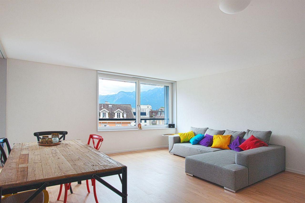 Апартаменты в Монтрё, Швейцария, 60 м2 - фото 3