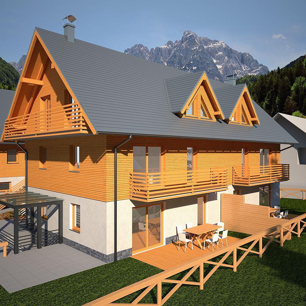Квартира в Краньской Горе, Словения, 150 м2 - фото 1