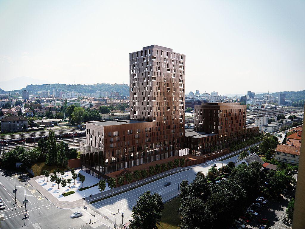 Квартира в Любляне, Словения, 176 м2 - фото 1