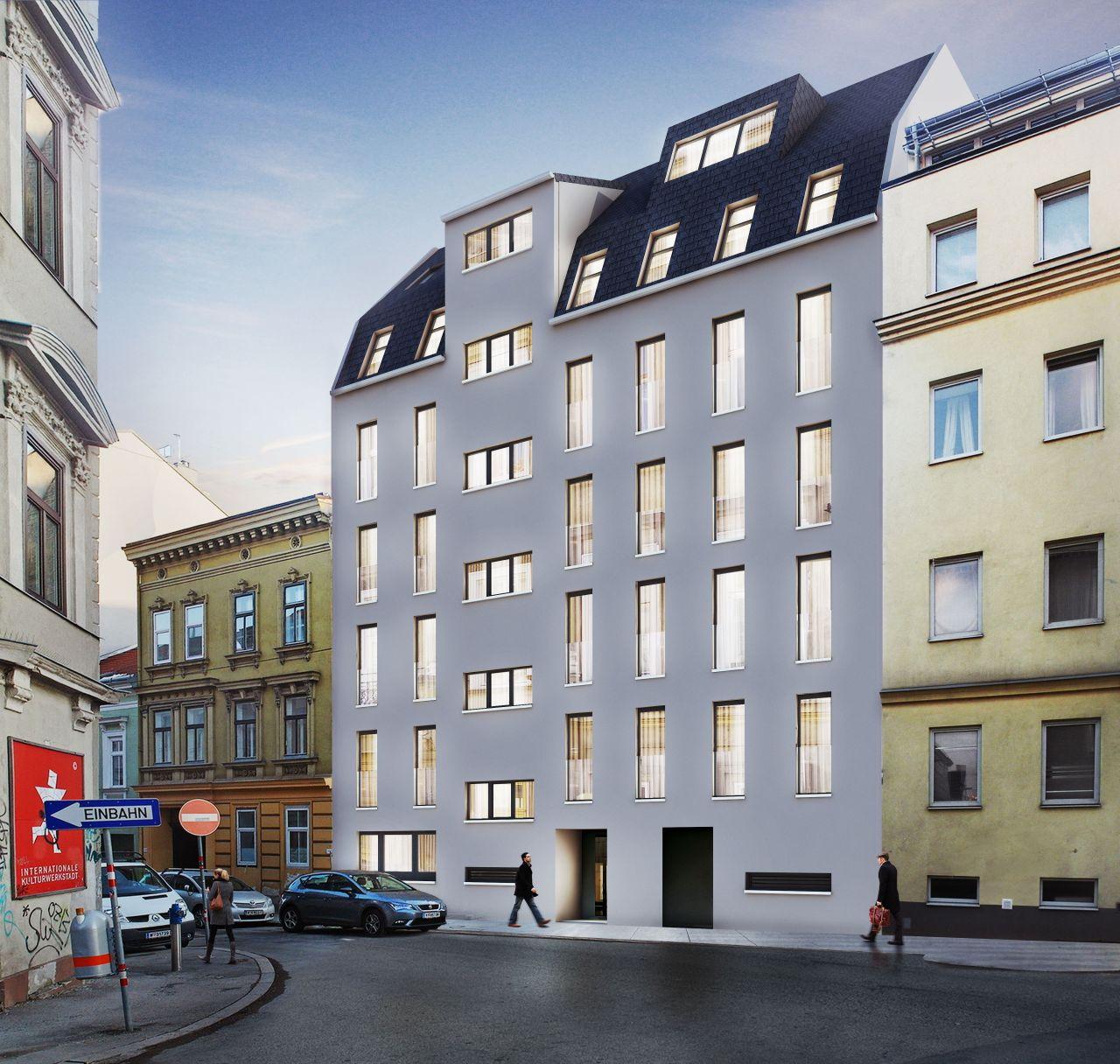 Квартира в Вене, Австрия, 32 м2 - фото 1