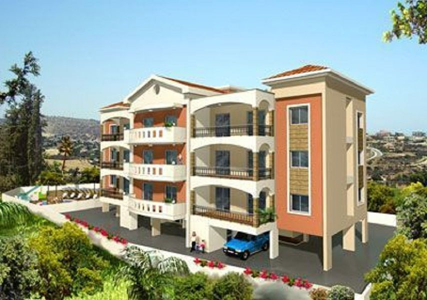 Квартира в Лимассоле, Кипр, 61 м2 - фото 1
