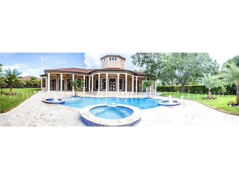 Вилла в Майами, США, 4285 м2 - фото 1