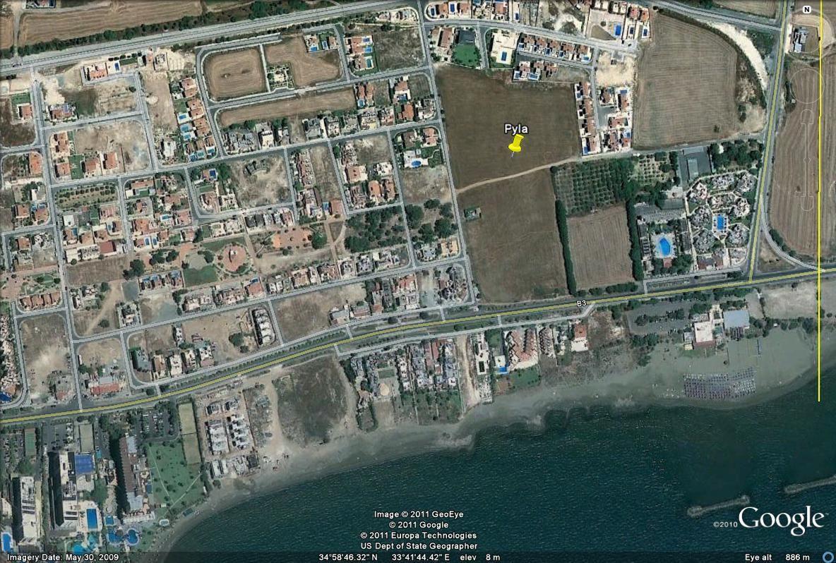Земля в Ларнаке, Кипр, 38265 м2 - фото 1