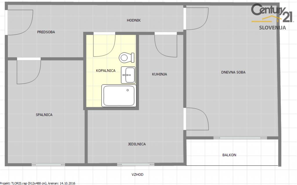 Квартира в Мариборе, Словения, 63 м2 - фото 8