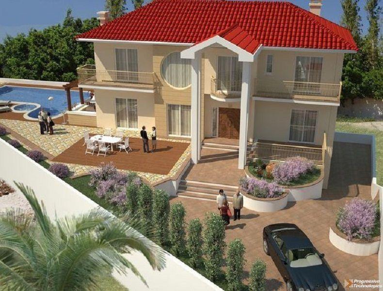 Вилла в Лимассоле, Кипр, 834 м2 - фото 1