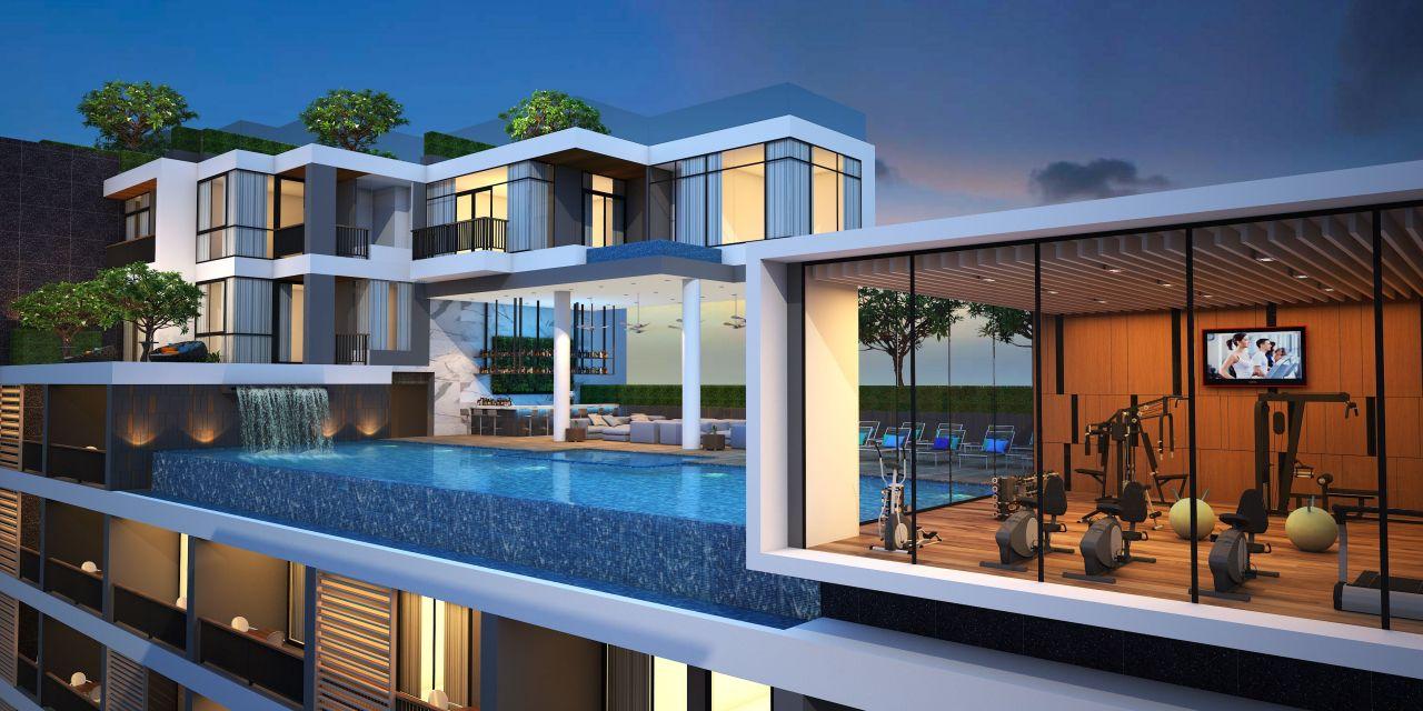 Апартаменты на Пхукете, Таиланд, 44 м2 - фото 1