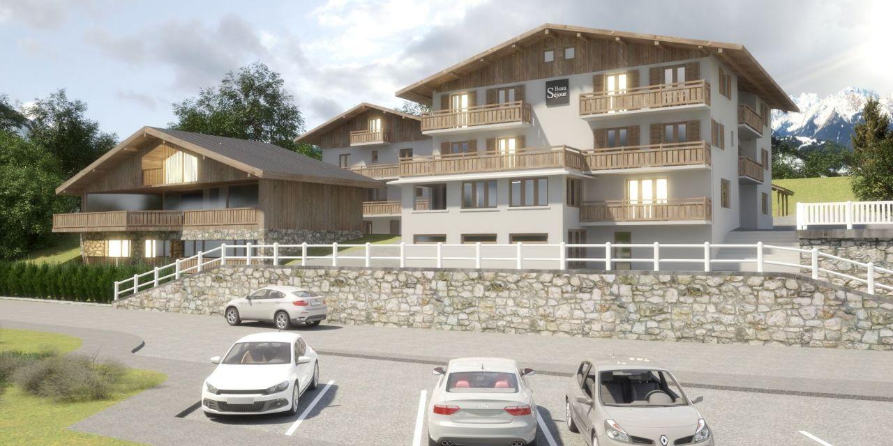 Апартаменты в Морзине, Франция, 74.13 м2 - фото 1
