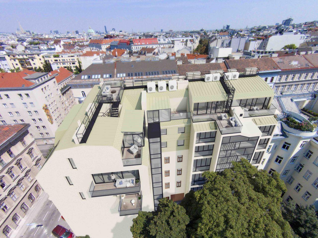 Апартаменты в Вене, Австрия, 60 м2 - фото 1