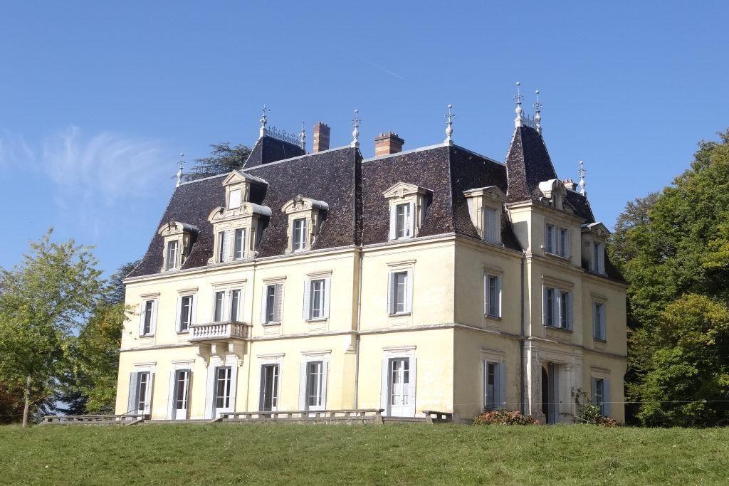 Замок в Рона-Альпы, Франция, 25 Га - фото 1
