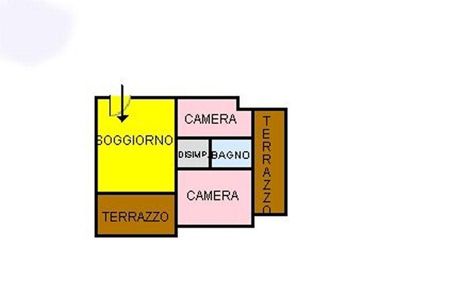 Квартира в Скалее, Италия, 47 м2 - фото 1