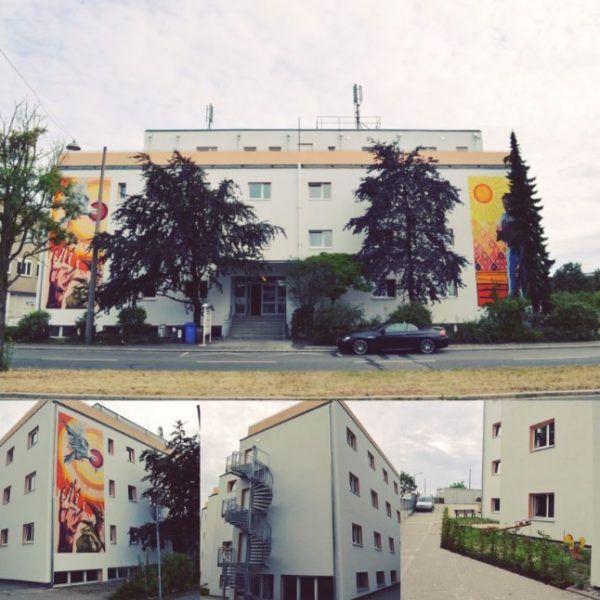 Доходный дом в Нюрнберге, Германия, 2500 м2 - фото 1