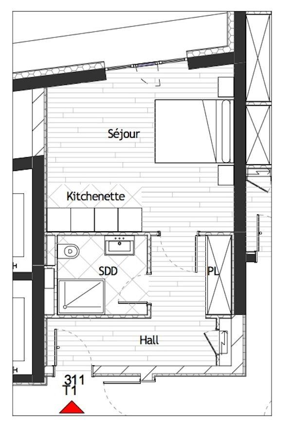 Квартира в Монако, Монако, 39 м2 - фото 1