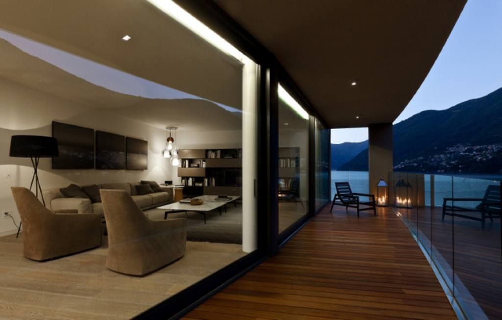 Апартаменты у озера Комо, Италия, 180 м2 - фото 1