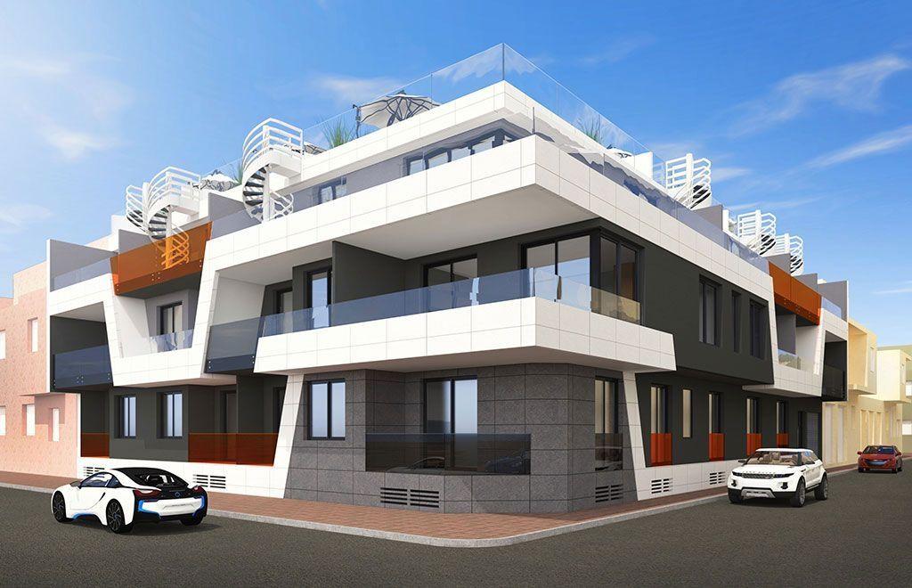 Апартаменты в Торревьехе, Испания, 53 м2 - фото 1