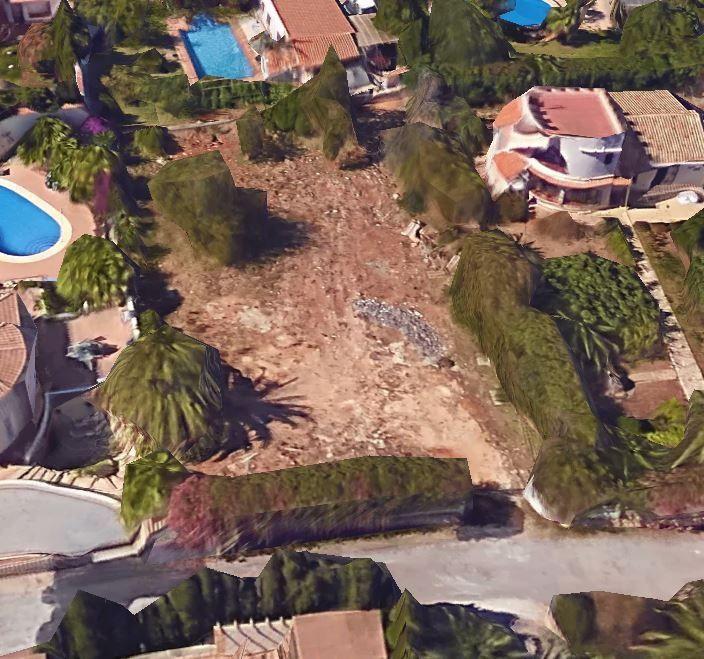 Земля в Хавее, Испания, 1048 м2 - фото 1