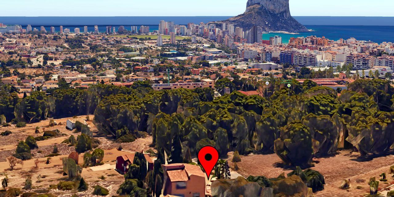 Вилла в Кальпе, Испания, 211 м2 - фото 1
