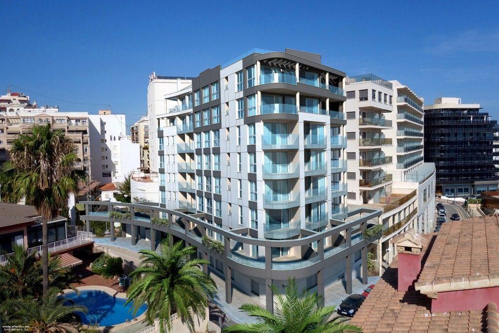 Апартаменты в Кальпе, Испания, 44.3 м2 - фото 1