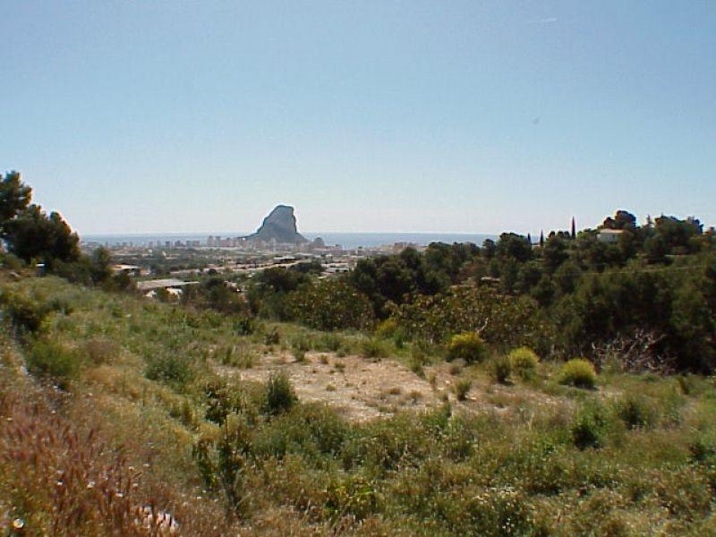 Земля в Кальпе, Испания, 2212 м2 - фото 1