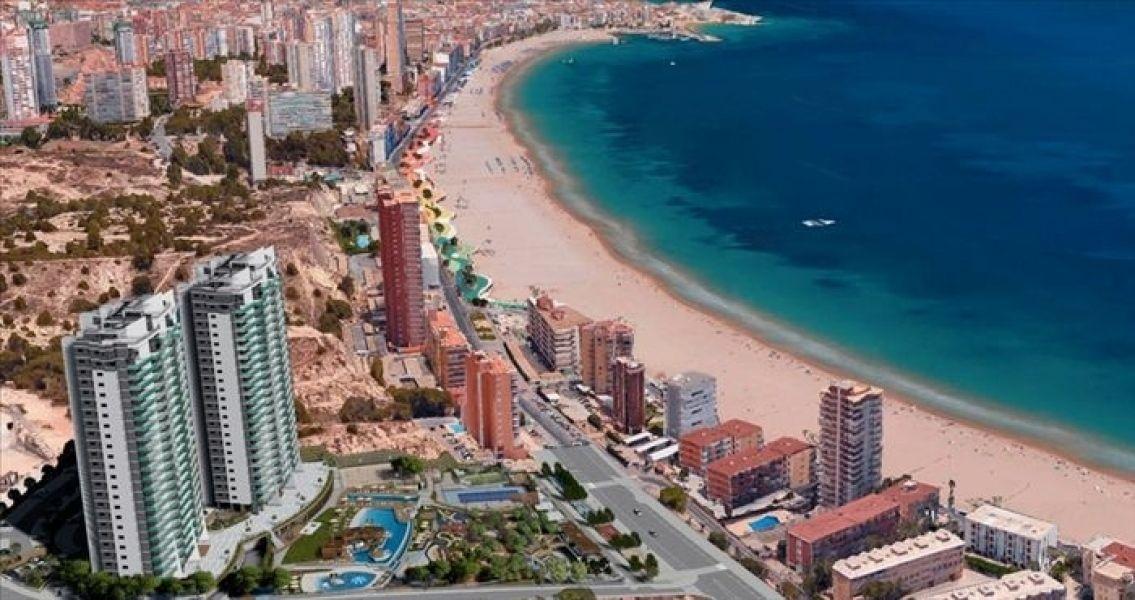 Апартаменты в Бенидорме, Испания, 114 м2 - фото 1