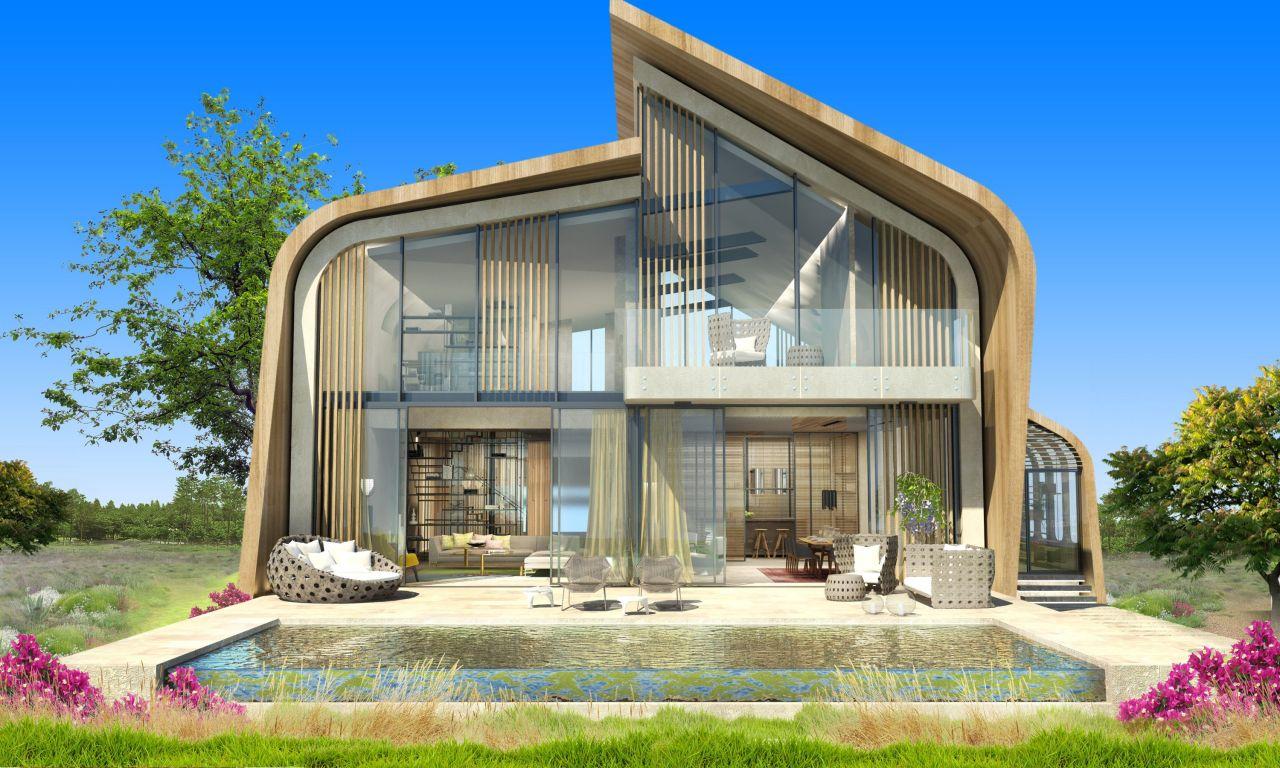 фото проекты дома будущего