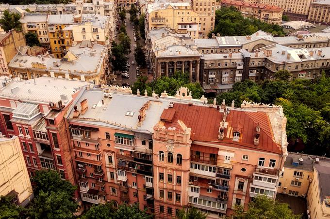 Заполгода Киев посетили 700 тыс. иностранных туристов