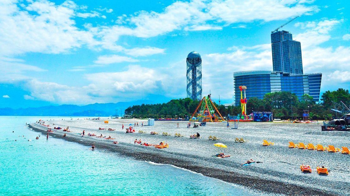 ежегодно посещают фото городской пляж батуми выполненные технике плетения